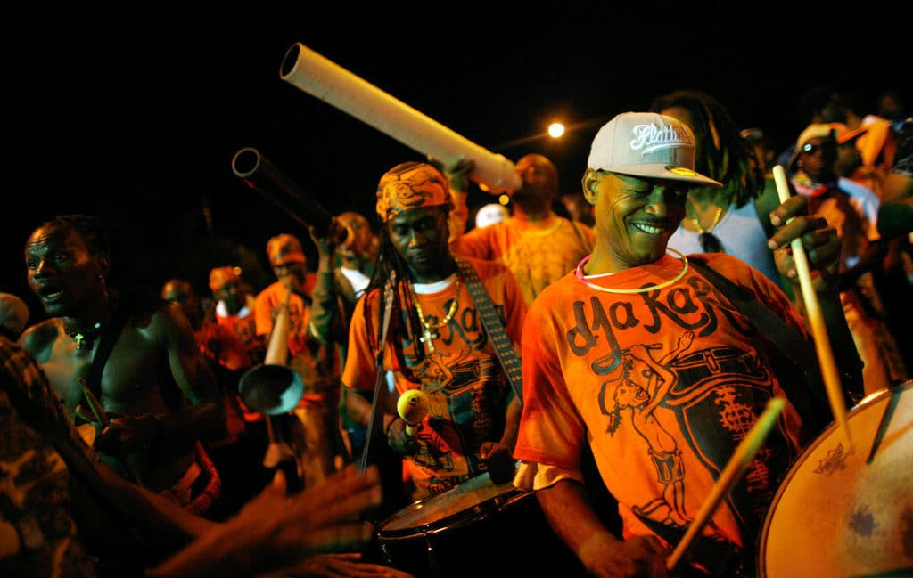 Voodoo drums